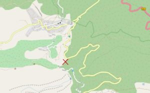 The location of the property near Las Hayas.